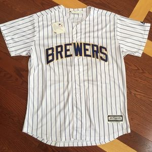 Other - Milwaukee Brewers Cool Base Yelich Jersey (M)
